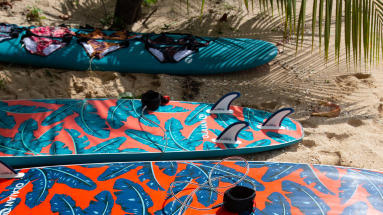 Surfboards in or out the sun