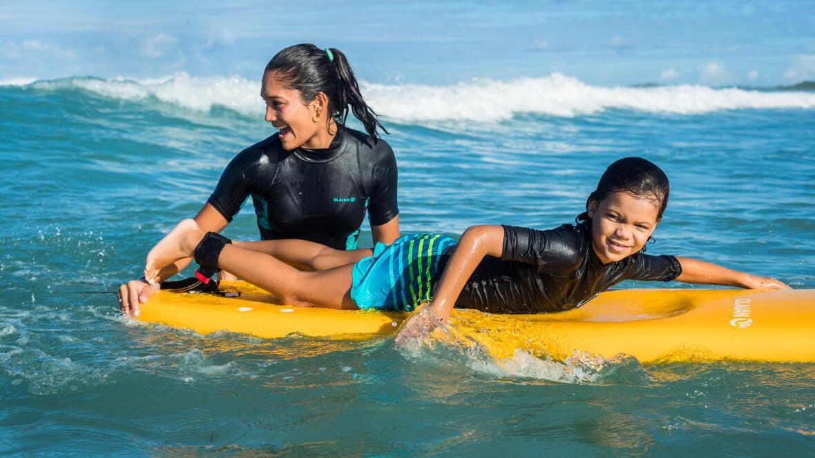 Comment se protéger du soleil pendant le surf ?