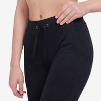 Pantalon 500 ajusté pilates et gym douce femme noir