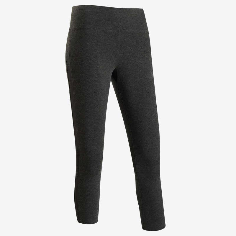 T-SHIRT, LEGGINGS, SHORT DONNA Ginnastica, Pilates - Leggings 7/8 donna gym 520 NYAMBA - Abbigliamento donna