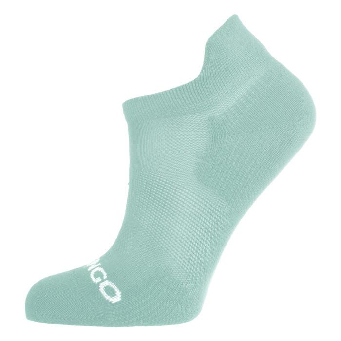 3雙入兒童款低筒網球運動襪RS 160-粉色/白色/綠色