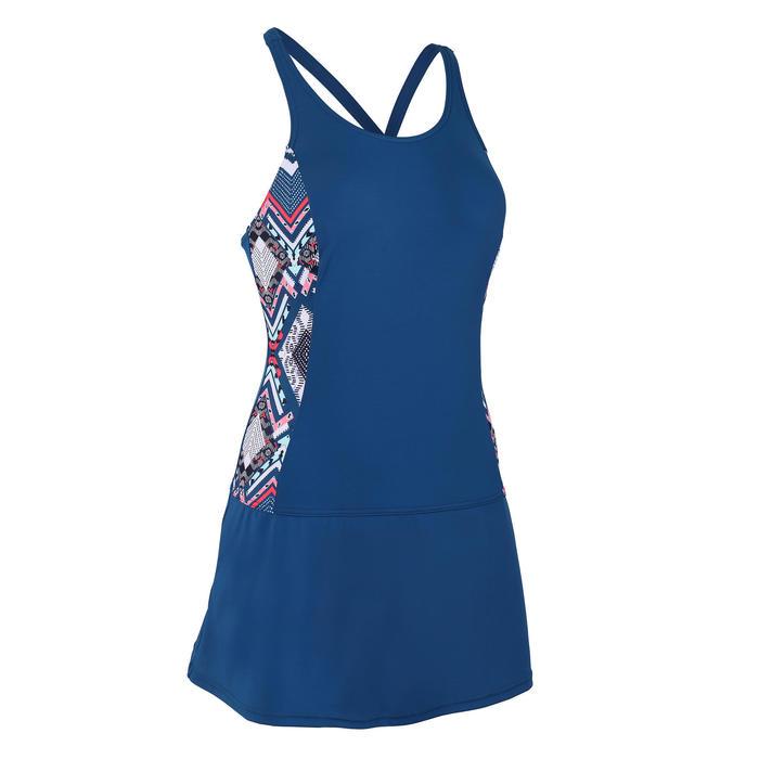 Women's Swimming One-Piece Swimsuit Vega Skirt - All Zolo