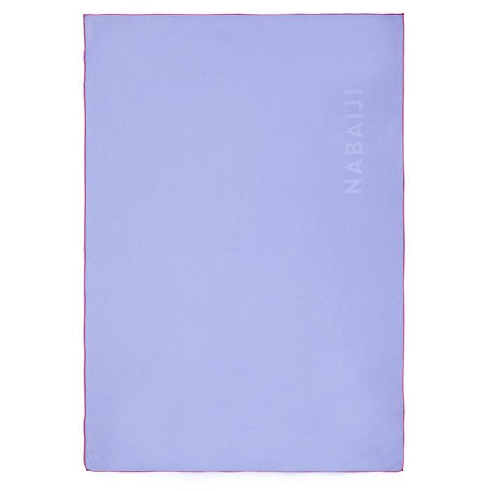 Microfibre towel ultra compact size M 65 x 90 cm light purple
