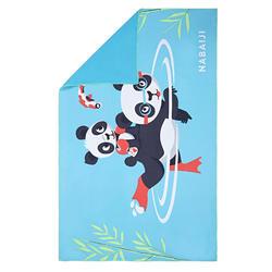 Compact Microfibre Towel Size L 80 x 130 cm - Panda Print