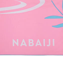 Compact Microfibre towel size L 80 x 130 cm pink panda print