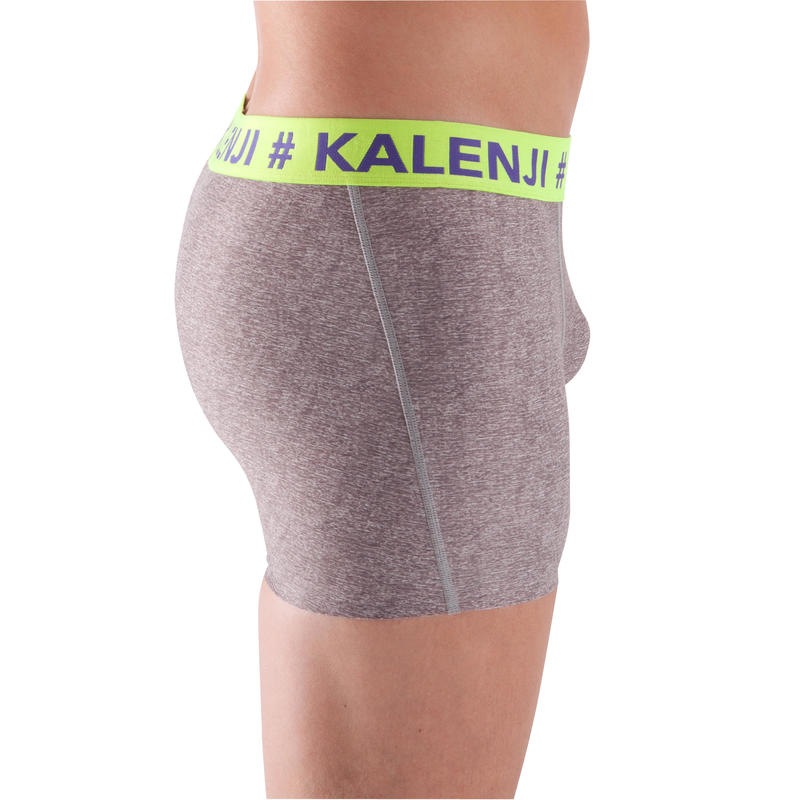 Mens Running Boxer shorts - grey
