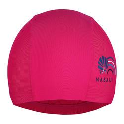 Mesh Swim Cap Size L - Pink Print