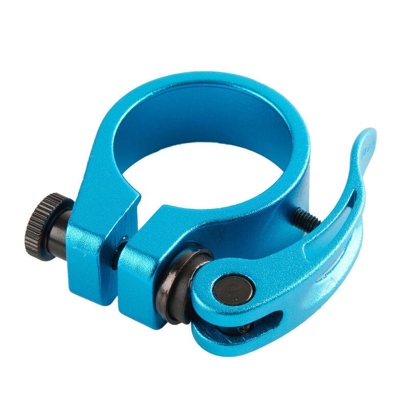 Abrazadera Sillín Antirrobo Azul Bicicleta Eléctrica Plegable Tilt 500 Eléctrica