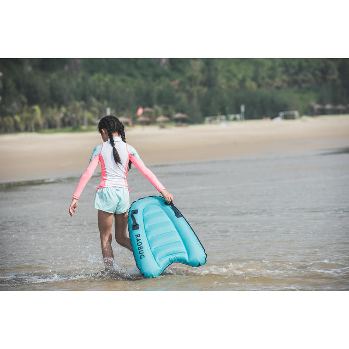女童款抗UV上衣500L Koga-冰雪款