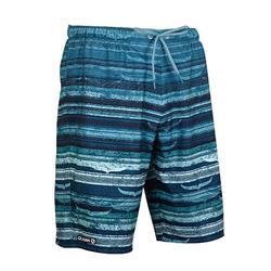 衝浪褲100-藍鯨款