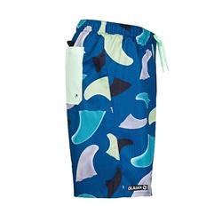 衝浪褲 100S-藍鰭款