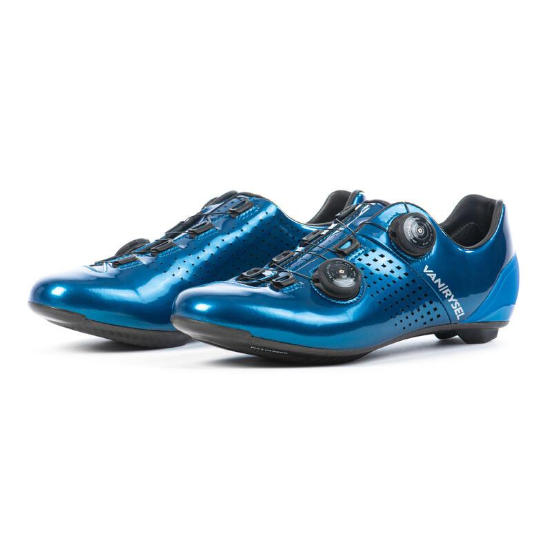 Fietsschoenen voor sportief wielrennen VAN RYSEL blauw