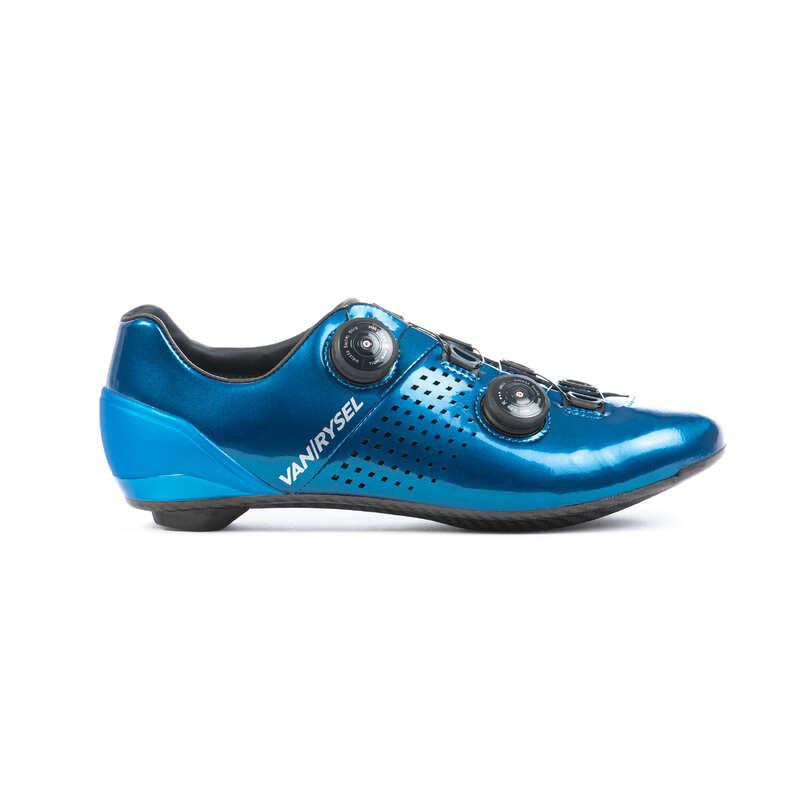SCARPE BICI DA CORSA PERFORMANCE Ciclismo, Bici - Scarpe ROADR 900 blu VAN RYSEL - ABBIGLIAMENTO DONNA BICI DA CORSA