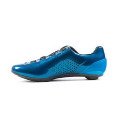Fietsschoenen voor wielrennen Van Rysel blauw