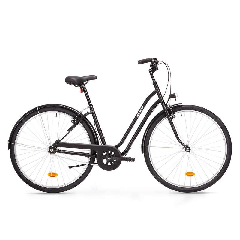 KLASSISKA CITYCYKLAR Cykelsport - Citycykel låg ram ELOPS 100 BTWIN - Cykelsport