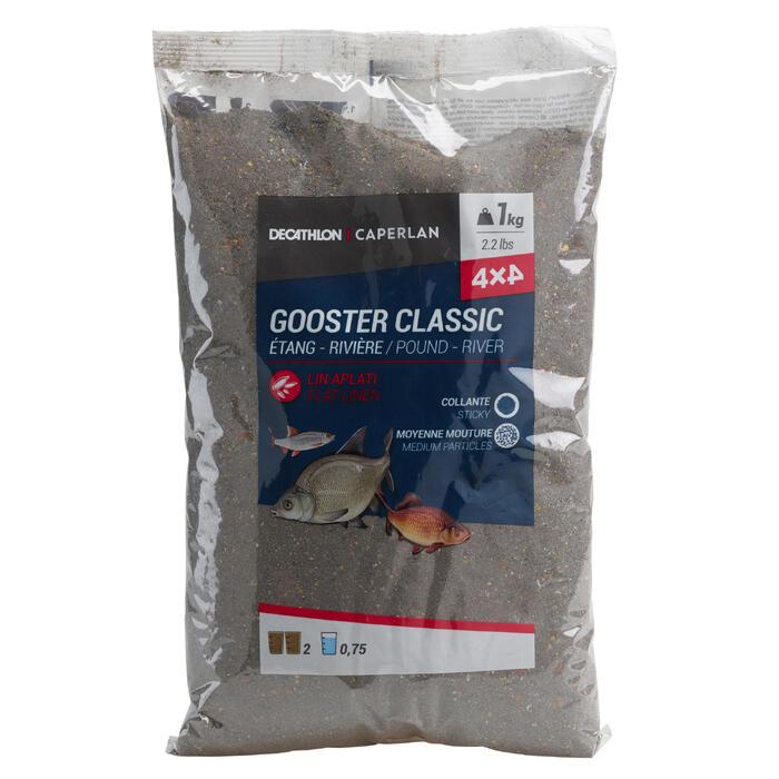AMORCE GOOSTER TOUS POISSONS 4X4 NOIRE 1kg