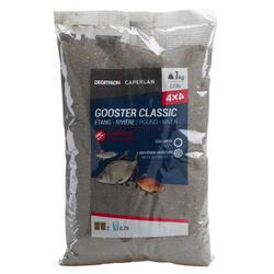 Lokaas voor alle vissen Gooster 4x4 zwart 1 kg