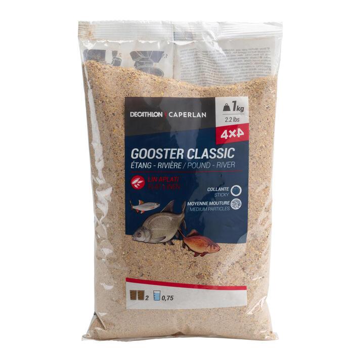 AMORCE GOOSTER TOUS POISSONS 4X4 1kg
