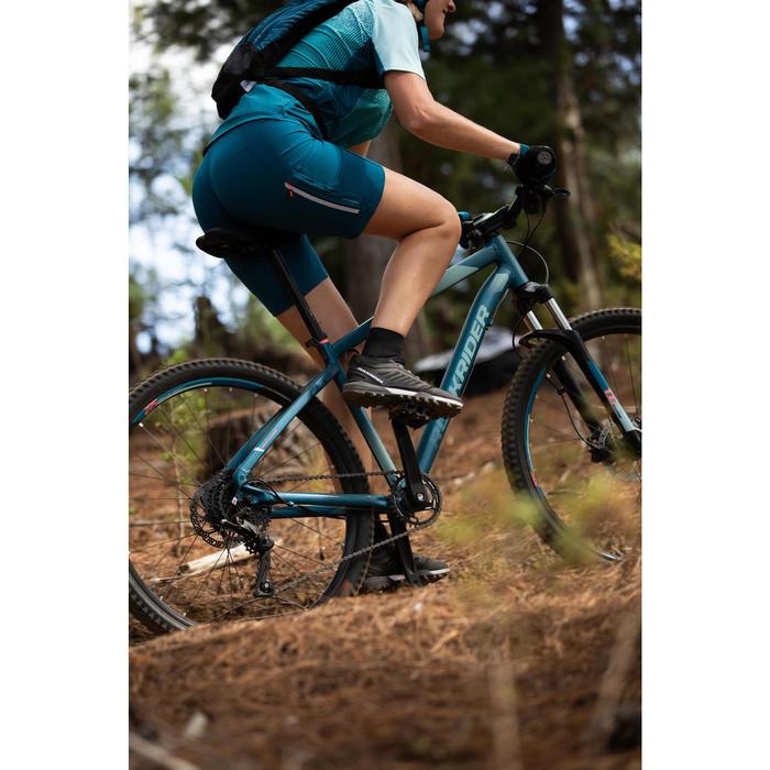 Vélo VTT ST 530 FEMME TURQUOISE 27'5