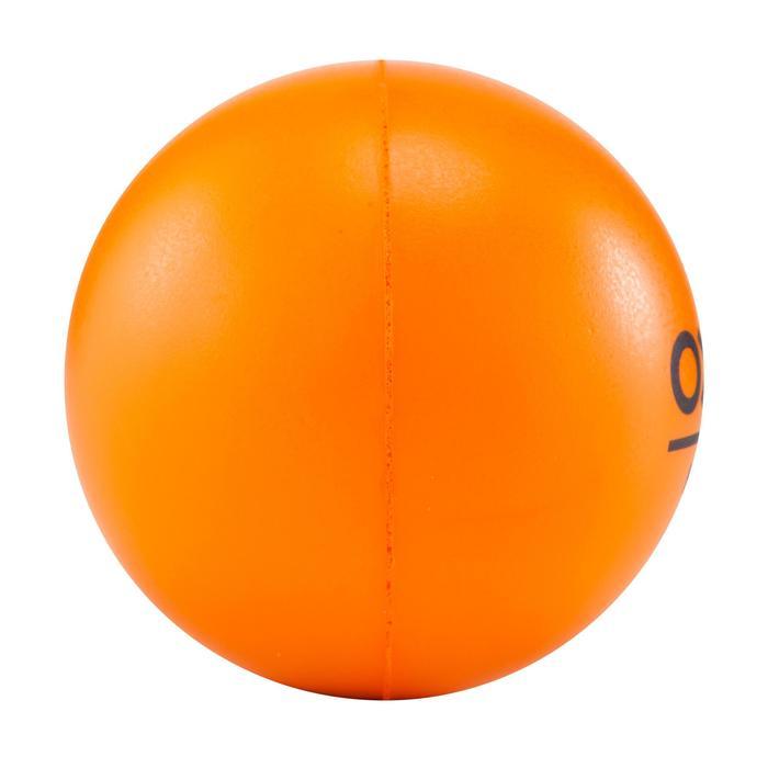 Schuimrubberen hockeybal oranje - 181087