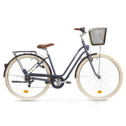 City Bike 28 Zoll Elops 520 LF Damen blau
