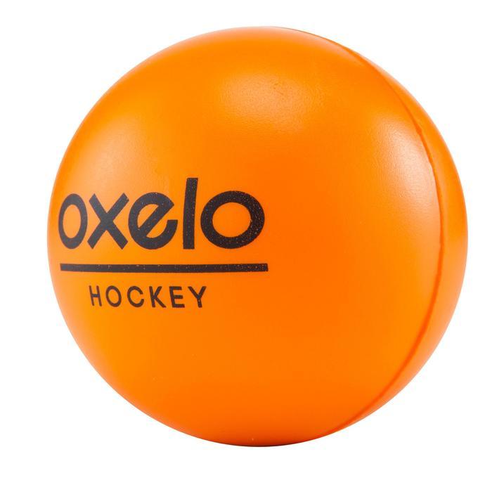 Schuimrubberen hockeybal oranje - 181089