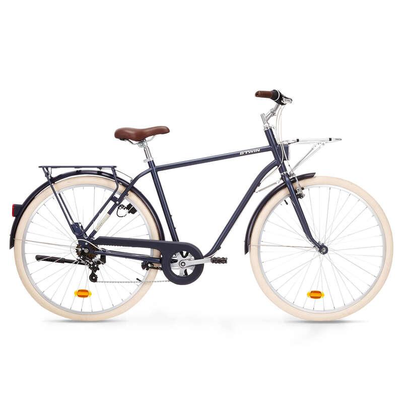 KLASSISKA CITYCYKLAR Cykelsport - Citycykel hög ram ELOPS 520 ELOPS - Citycyklar