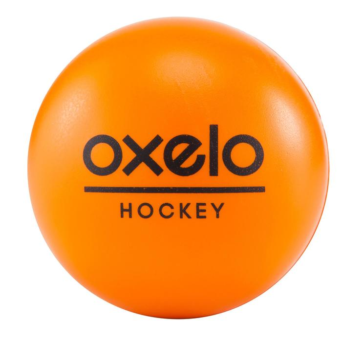 Schuimrubberen hockeybal oranje - 181091