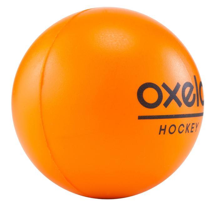 BALLE DE HOCKEY MOUSSE orange