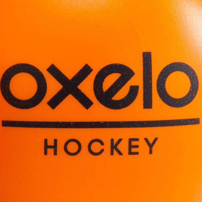 Schuimrubberen hockeybal oranje - 181094