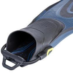 Duikvinnen voor diepzeeduiken met open hiel en elastisch riempje SCD 500 OH