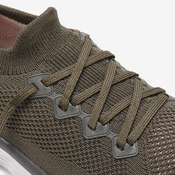 COMFORT KNIT SHOES - KHAKI