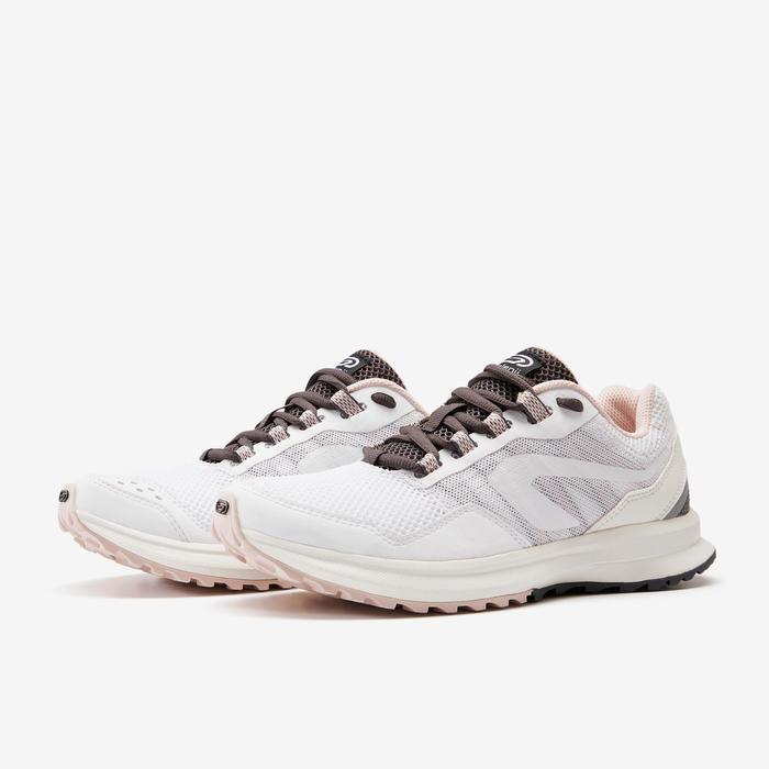 女款慢跑鞋ACTIVE GRIP - 白色/粉色