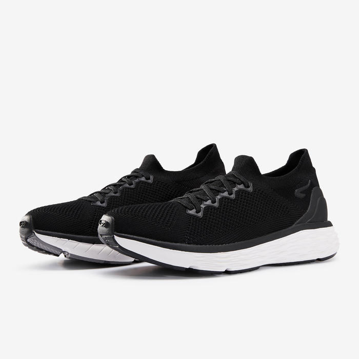 跑鞋COMFORT KNIT - 黑色