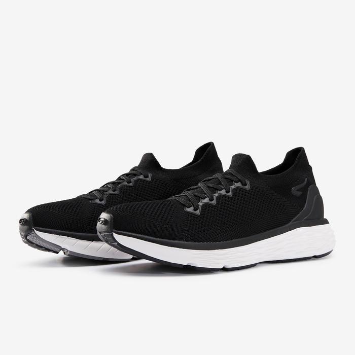 Joggingschoenen Comfort knit zwart