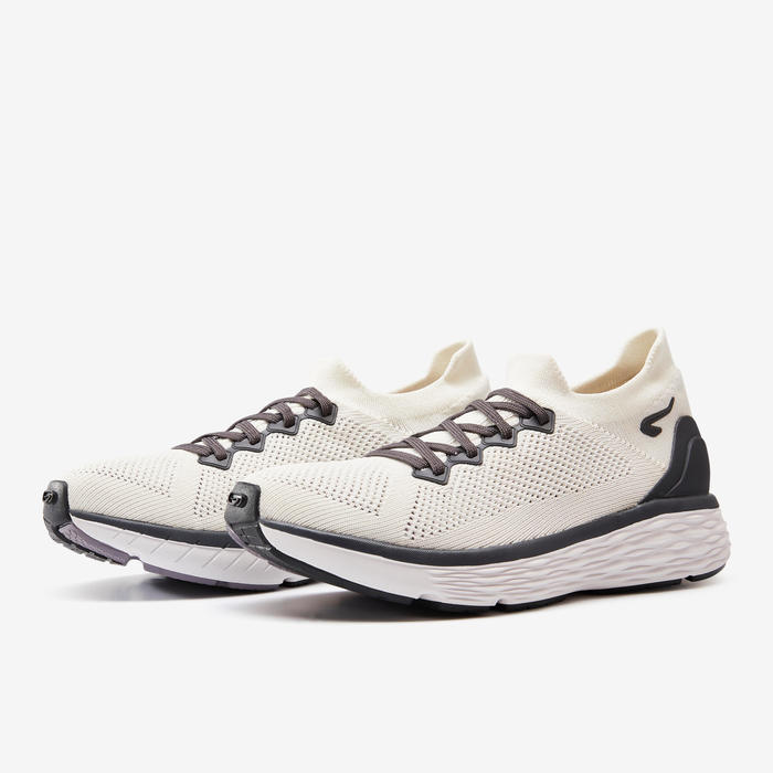 COMFORT KNIT SHOES - BEIGE