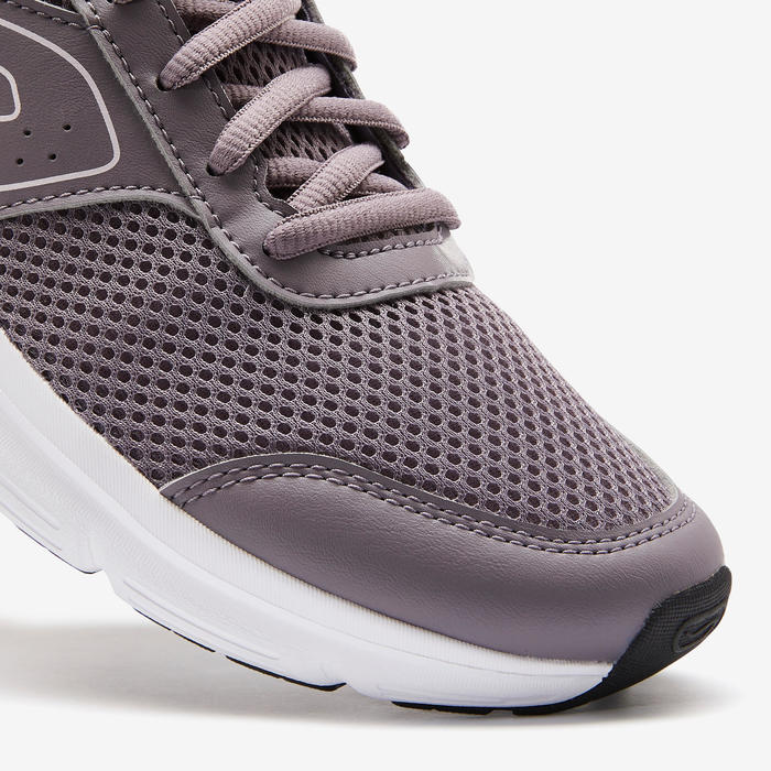 CHAUSSURES DE RUNNING FEMME KALENJI RUN CUSHION GRIS
