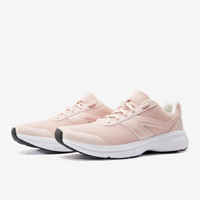 CUSHION WOMEN'S JOGGING SHOES - CORAL/PINK