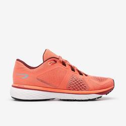 Schoenen Run Support Control voor dames koraalrood