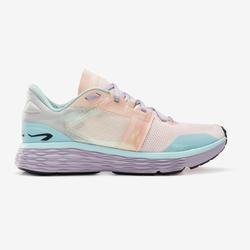 Laufschuhe Run Comfort Damen pastellfarben