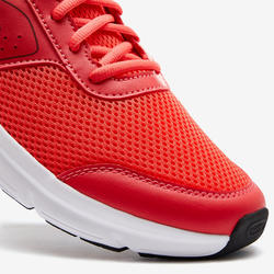 CHAUSSURE JOGGING HOMME RUN CUSHION ROUGE