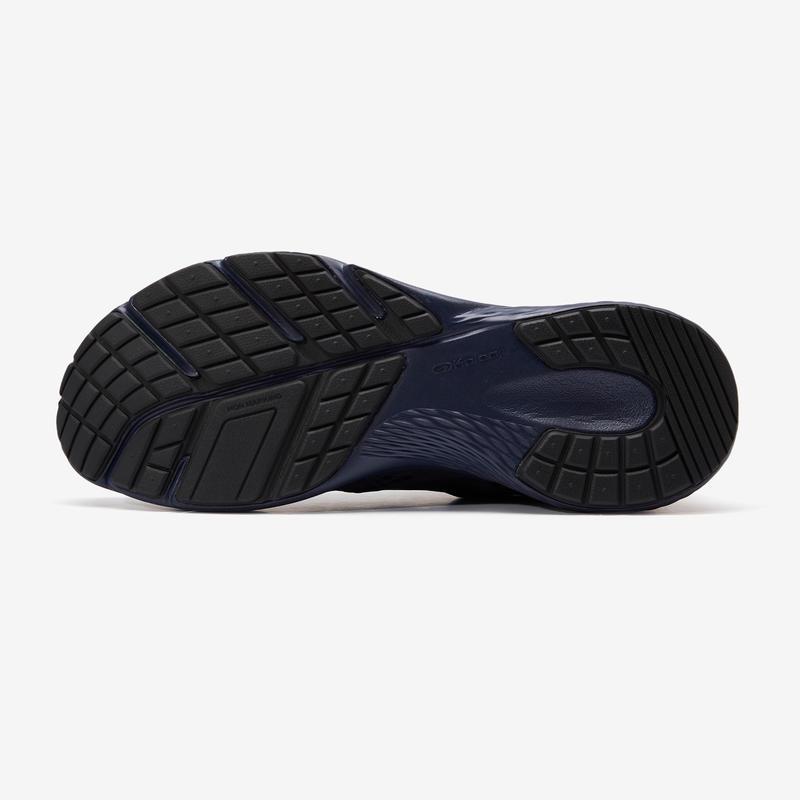รองเท้าผู้ชายสำหรับใส่วิ่งจ็อกกิ้งรุ่น RUN SUPPORT (สีน้ำเงินเข้ม)