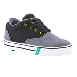 Zapatillas con ruedas LAUNCH gris negro amarillo limón