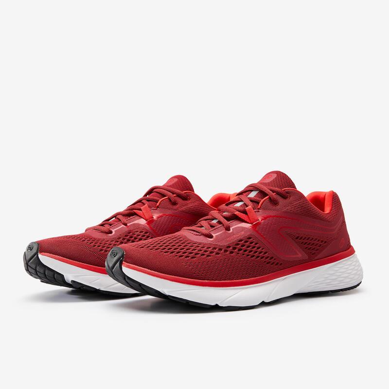 Erkek Kırmızı Koşu Ayakkabısı / Hafif Tempolu Koşu - RUN SUPPORT