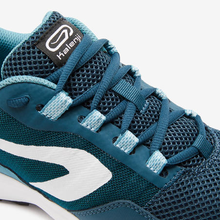 Tenis de Running Kalenji Run Active Grip Hombre Verde/Azul