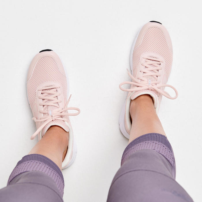 Hardloopschoenen Dames Cushion Roze/Koraal