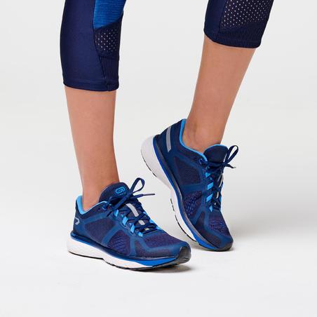 Tenis de Running Kalenji Run Support Mujer Azul Oscuro