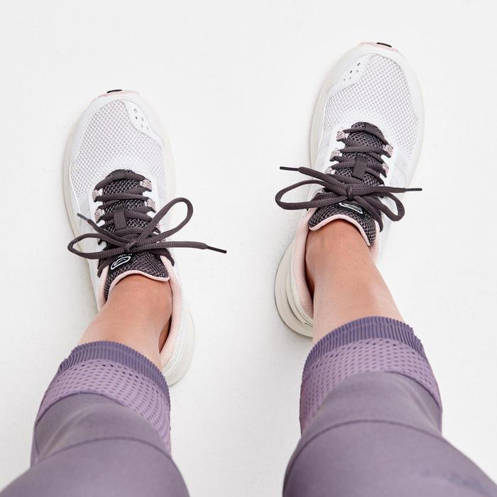 ACTIVE GRIP WOMEN'S JOGGING SHOES - WHITE/PINK
