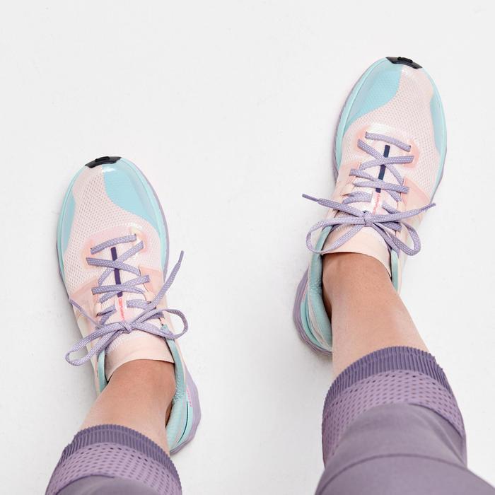 女款跑鞋COMFORT - 粉彩