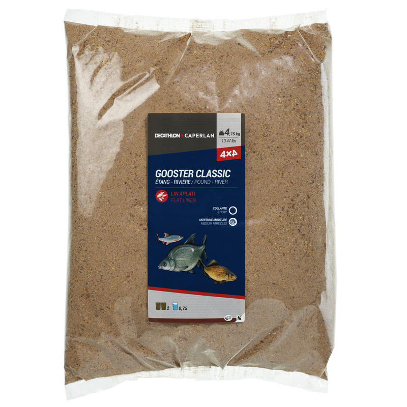 AMORCE GOOSTER CLASSIC TOUS POISSONS 4X4 4,75kg